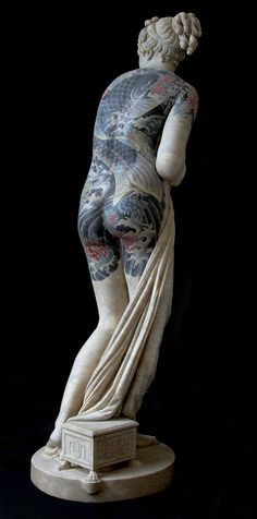 SUPERSONIC ART: Fabio Viale, Tattooed Sculptures. Modeled after...