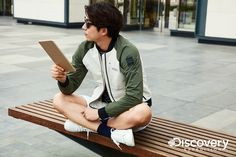 Gong Yoo Discovery Expedition Spring 2017 Look 1
