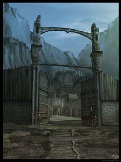 Viking village by gregmks.deviantart.com on @deviantART