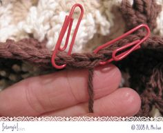 "Before learning this technique, I would just pull the end tightly and weave it in.  That leaves a little bump in edge of the crochet.      This technique show you how to ""fake"" a crochet stitch to connect the last stitch to the first stitch of the row, which looks awesome."