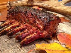 Holy Cow - Smoked Ribs Recipe - Useful Articles Deer Recipes, Wild Game Recipes, Rib Recipes, Venison Recipes, Barbecue Recipes, Venison Meals, Cooking Venison, Jerky Recipes, Grilling Recipes