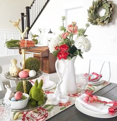 gorgeous spring / Easter table