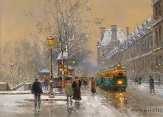 St.Denis - Edouard Cortes - WikiArt.org