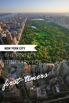 What to do in New York City. The perfect itinerary for first-time visitors to NYC. This travel guide covers where to stay, what to do, and the best restaurants.