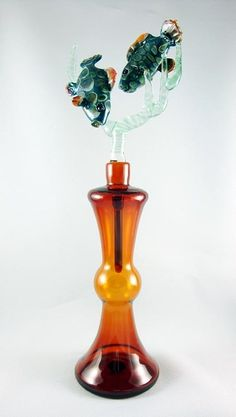 Nudibranch Art Glass