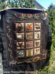THE QUILTED PINEAPPLE: Primitive Gatherings Summer