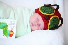 The Very Hungry Caterpillar Hat Only - Photography Prop