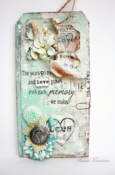 Love tag - Scrapbook.com