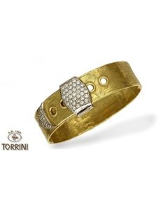 "Bracelet ""Maxi Zero"" in Gold and Diamonds"