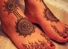 Elegant Henna Design 25 Fabulous Foot Mehndi Designs for Your Next Event