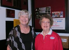"""Jacque Jabs/Special to the Record Searchlight.  Connie Bond (left) and Mary Forbes, both of Redding, attend the play """"Our Town"""" at the Riverfront Playhouse on Sunday in Redding. Go to www.redding.com for more Scene! photos."""