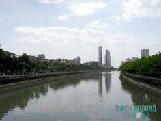 Die Hauptstadt Chengdu in der Provinz Sichuan in China
