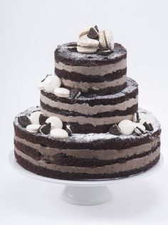 Naked Layer Cake by Macarons & More