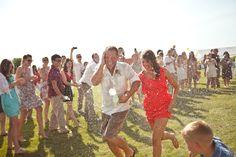 water balloon wedding getaway