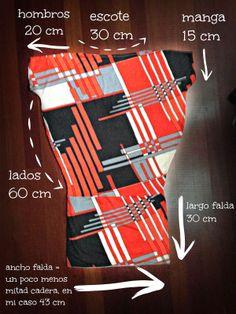 DIY Vestido de punto con patrón muy fácil