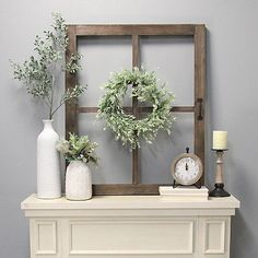 Our Brown Square Windowpane Wall Plaque is a great way to give your walls a little rustic style! This plaque is blank canvas ready to be styled by you. Diy Rustic Decor, Farmhouse Wall Decor, Entryway Wall Decor, Vintage Farmhouse Decor, Country Wall Decor, Kitchen Wall Decor Rustic, Rustic Living Room Decor, Rustic House Decor, Rustic Window Decor