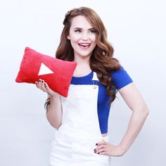 My favorite YouTuber is going to be on bizzarbark (Rosanna pansino)