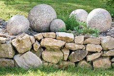 Vyrobte si dekorační betonové koule