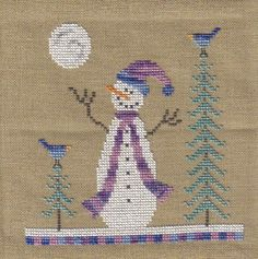 Full Winter Moon - Brown House Studio