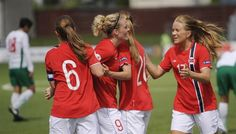 Female Association has passed Denmark and is now number 12 on the FIFA rankings. (December 2012)