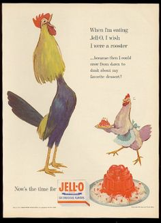 1954 Jell-O Ad