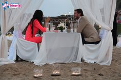 Kumsalda evlilik teklifi - wedding proposals at beach