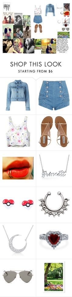 """""""Picnic Date"""" by biphangirl666 on Polyvore featuring Love Quotes Scarves, BeYou, Yves Saint Laurent, Pierre Balmain, Bling Jewelry, Nintendo, Anne Sisteron, BERRICLE and Alexander McQueen"""