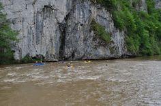 kayaking on Crisul Repede river