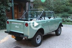 1964 International Scout 800 for sale: photos, technical specifications, description Old Vintage Cars, Vintage Trucks, Old Trucks, Antique Cars, Cool Old Cars, Fancy Cars, Retro Cars, My Dream Car, Dream Cars