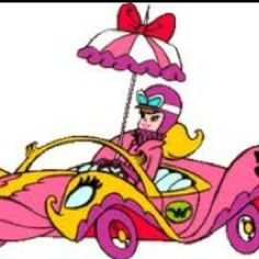 Penelope Pitstop- one of my favorite saturday morning cartoons.....watched with my kids