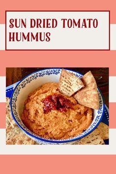 My Recipes, Gluten Free Recipes, Sun Dried Tomato Hummus, A Food, Food Processor Recipes, Vegan, Breakfast, Ethnic Recipes, Vegans