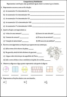 Kindergarten Math, Homework, Teaching, Education, Gabriel, Lp, Math Notebooks, Maths Tricks, Fractions