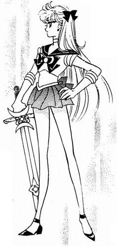 Manga. Codename: Sailor V. Sailor V.