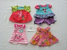 Baby Alive Clothing LOT to fit size dolls Baby Alive Doll Clothes, Baby Alive Dolls, Baby Alive Magical Scoops, My Life Doll Accessories, Interactive Baby Dolls, Safari Outfits, Doll Carrier, Newborn Baby Dolls, African American Dolls