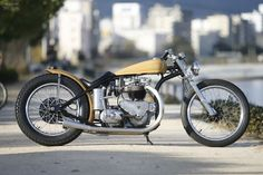 Custom Triumph T110 by Heiwa Motorcycle