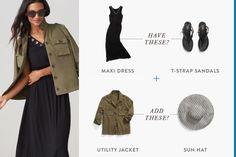 THE MAXI DRESS + SAN
