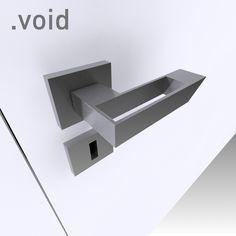 it is void Door Levers, Magazine Design, Locks, Architecture Design, Door Handles, 3d, Drawings, Decor, Doors