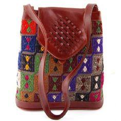 Turkish Carpet Hand Bag