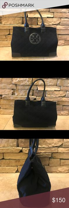 63d3e2b5f5d Tory Burch Tote Bag Quilted Tory Burch tote bag in excellent pre-owned  condition.