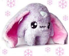 Big Fluse Kawaii Plush Christmas Rabbit Sweetheart von Fluse123