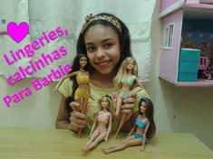 Como fazer calcinha para Barbie