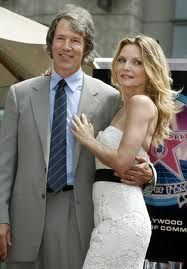 David E Kelly and Michelle Pfeiffer - married in 93