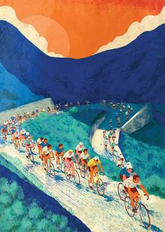 Cycling Posters on Behance