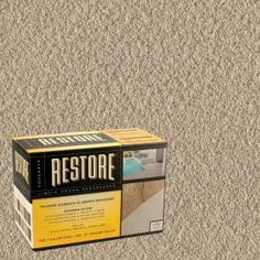 DIY How to Paint Concrete very thorough tutorial on the entire
