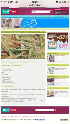 Pasta zucchine e vongole
