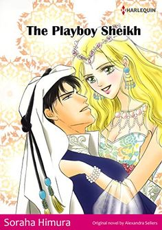 THE PLAYBOY SHEIKH - Sons of the Desert (Harlequin comics)