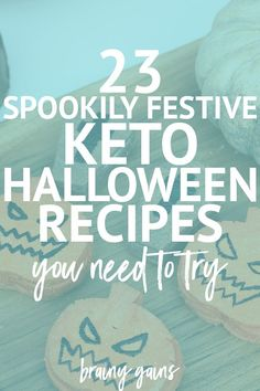 23 Low Carb Keto Halloween Recipes for Spookily Festive Treats - these are 23 of the best low carb keto treats out there to get you in the Halloween spirit.