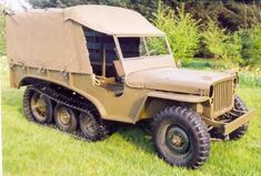Tracked Jeep..j