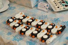 Boys Winter Wonderland Themed Penguin Food ideas