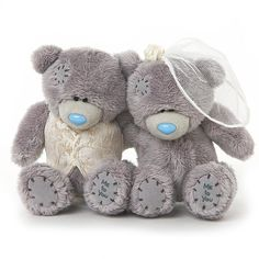 "2 x 4"" Mr & Mrs Me to You Wedding Bears"